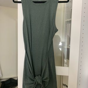 Aerie front tie dress